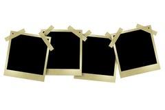 Ppolaroid style photo frames Royalty Free Stock Photos