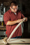 Pprofessional carpenter at work. Stock Photos