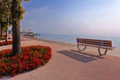 Ppromenade di Bardolino Fotografie Stock Libere da Diritti