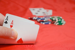 Póquer Foto de Stock Royalty Free