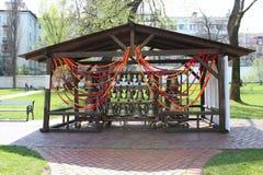 Pâques Bells Photographie stock libre de droits