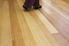 Práctica de la danza Imagen de archivo