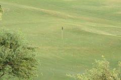 Práctica del golf Fotografía de archivo