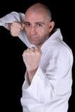Práctica del karate foto de archivo libre de regalías