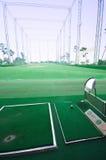 Práctica del shooting del golf Fotografía de archivo libre de regalías