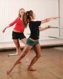 Prática da dança fotografia de stock