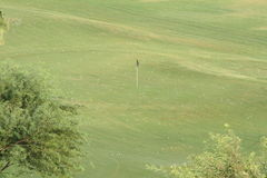 Prática do golfe Fotografia de Stock