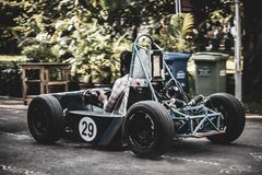 Prática F1 imagem de stock