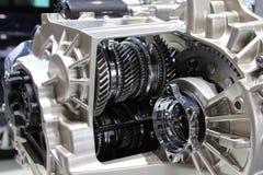 6 prędkości mechaniczny gearbox internals, przekładnie i frykcji sprzęgła, zdjęcie royalty free