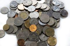Prägt Baht Lizenzfreies Stockfoto