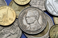 Prägt Thailand Lizenzfreies Stockfoto