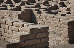 Prähistorische Architektur im New Mexiko Lizenzfreies Stockfoto
