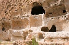 Prähistorische Höhlewohnung Stockbild