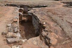 Prähistorischer Friedhof lizenzfreies stockbild