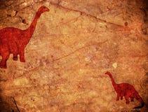 Prähistorischer Hintergrund Lizenzfreies Stockbild