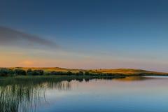 Prärie sjöar Arkivfoto
