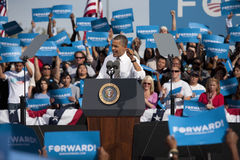 Präsident Barack Obama Lizenzfreie Stockbilder