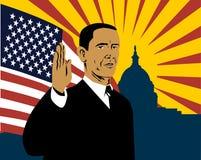 Präsident Barack Obama Stockfoto