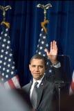 Präsident Barack Obama in Arizona lizenzfreie stockbilder
