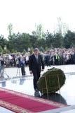 Präsident der Republik von Moldau Mihai Ghimpu lizenzfreie stockfotos