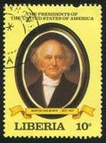 Präsident der Vereinigten Staaten Martin Van Buren stockfoto