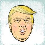 Präsident Donald Trump Stockfotografie