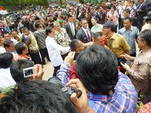 Präsident Jokowi Lizenzfreie Stockfotografie