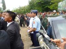 Präsident Jokowi Stockbild