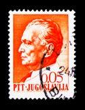 (1892-1980) Präsident Josip Broz Titos, serie, circa 1967 Lizenzfreie Stockfotos