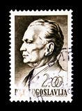 (1892-1980) Präsident Josip Broz Titos, serie, circa 1967 Stockfotografie