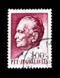(1892-1980) Präsident Josip Broz Titos, Präsident Tito serie, cir Lizenzfreies Stockbild