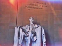 Präsident Lincoln Lizenzfreies Stockbild