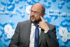 Präsident Martin Schulz des Europäischen Parlaments Lizenzfreie Stockfotografie