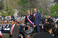 Präsident Michelle Bachelet Lizenzfreie Stockfotos