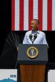 Präsident Obama spricht an 20. jährlichem Lake- Tahoegipfel 23 Stockfoto