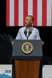 Präsident Obama spricht an 20. jährlichem Lake- Tahoegipfel 20 Lizenzfreies Stockfoto