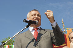 Präsident Piero-Marrazzo der Lazio-Region Stockfoto