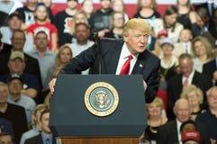 Präsident Trump stockfoto
