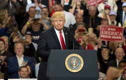 Präsident Trump Lizenzfreies Stockfoto
