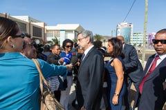 Präsident von Kap-Verde, Jorge Carlos Almeida Fonseca Lizenzfreie Stockfotografie