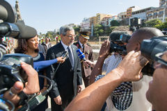 Präsident von Kap-Verde, Jorge Carlos Almeida Fonseca Lizenzfreies Stockbild