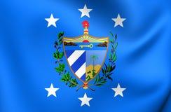 Präsident von Kuba-Standard Lizenzfreie Stockbilder