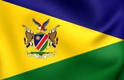 Präsident von Namibia-Standard Lizenzfreie Stockbilder
