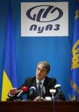 Präsident von Ukraine Viktor Yushchenko Lizenzfreies Stockfoto