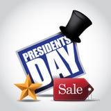 Präsidenten Day Sale Icon Lizenzfreie Stockfotos