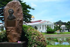 Präsidenten- Palast in Bogor, West-Java Lizenzfreie Stockfotografie