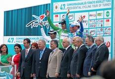 Präsidentenausflug von der Türkei Stockbilder