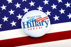 Präsidentenkampagne Hillary Clintons 2016 Lizenzfreies Stockbild