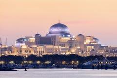 Präsidentenpalast in Abu Dhabi Stockbild