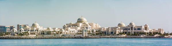 Präsidentenpalast in Abu Dhabi, UAE Stockbild